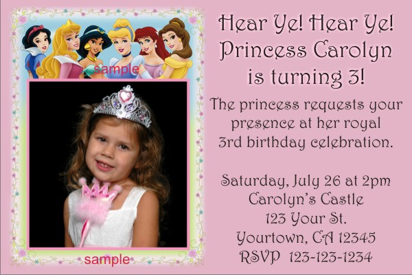 Birthday party invitations 2011